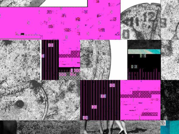 Glitch Series Pink