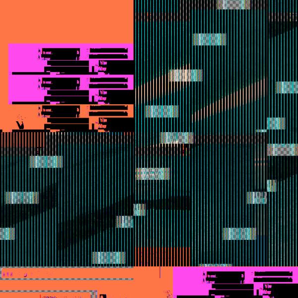 Glitch Series Orange