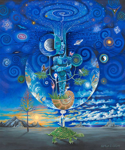 Image result for cosmic oneness paintings
