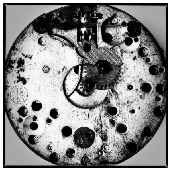 Black & White Fine Art Photograph of Watch
