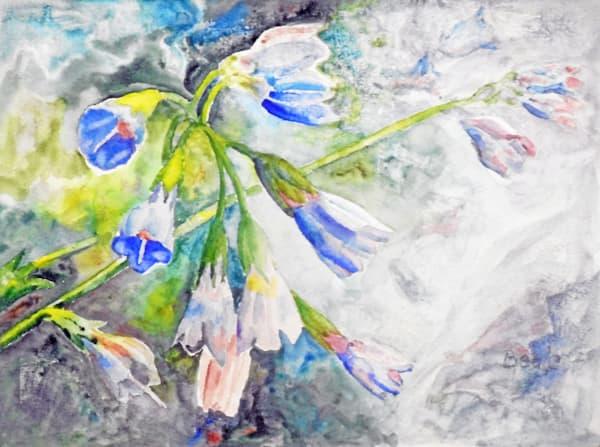 2015052 Icelandic Bluebells Art | David Beale