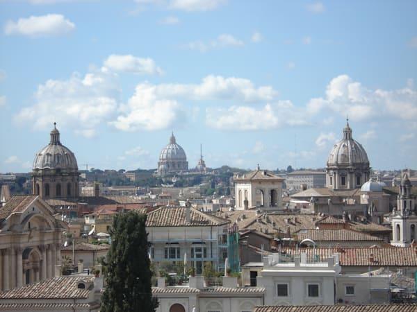 Three Churches In Rome Photography Art | Photoissimo - Fine Art Photography
