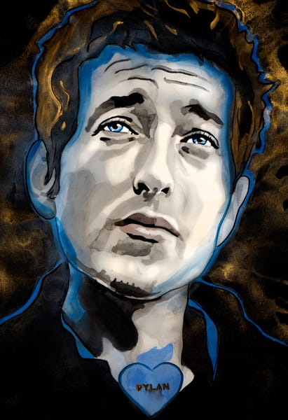 Bob Dylan Art | William K. Stidham - heART Art