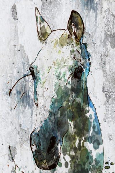 ORL-7940 Light Gray Horse