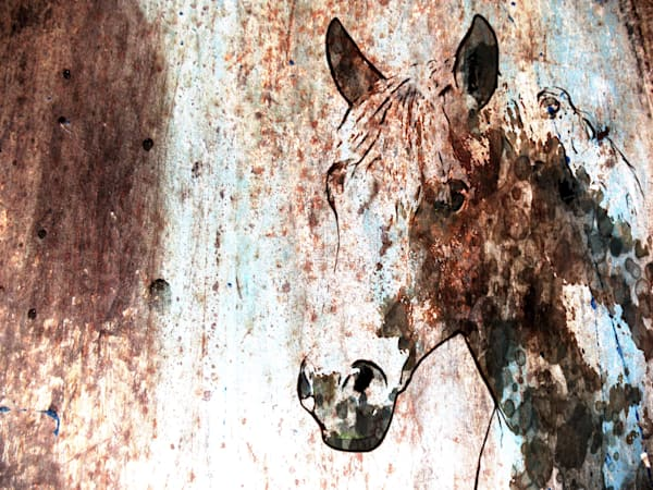 ORL-7922-2 Rustic Horse