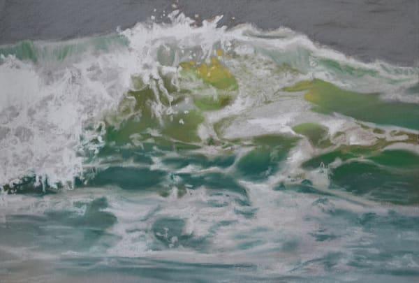 Half Splash Pastel Study