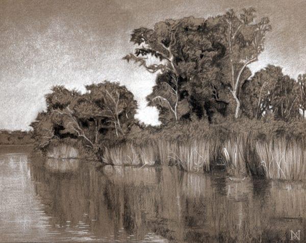 Creek One Drawing