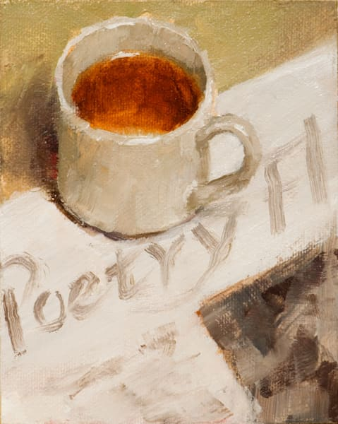 Tea And Poetry Art | Fine Art New Mexico