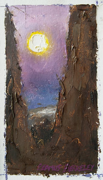 Full Moon in Tree, Taos