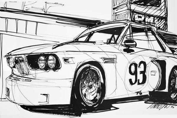 BMW Art Car Print Batcar
