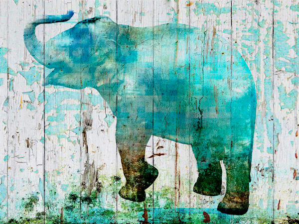 Blue Elephant Art | Irena Orlov Art