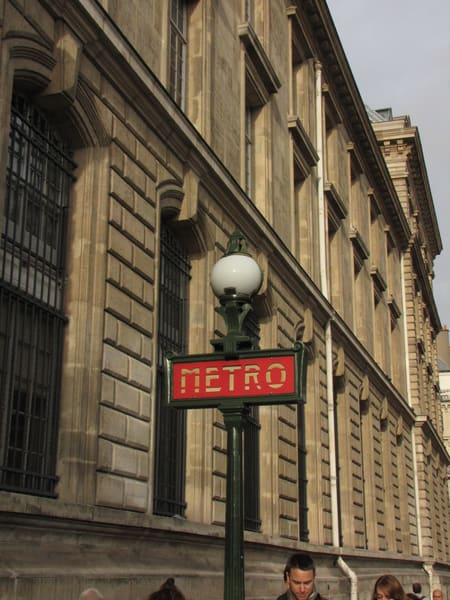 Metro Sign, Paris #1 Photography Art | Photoissimo - Fine Art Photography