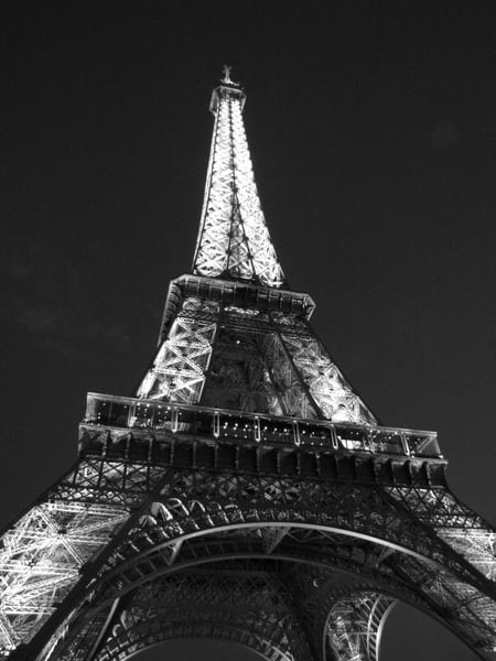 Eiffel Tower #1   Black And White Photography Art | Photoissimo - Fine Art Photography
