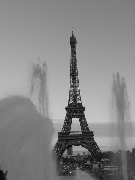 Eiffel Tower #2, Black And White Photography Art | Photoissimo - Fine Art Photography