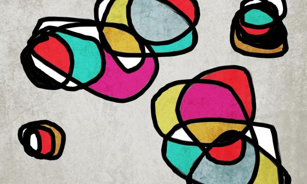 Orl 6850 Vibrant Colorful Abstract 0 24 Art | Irena Orlov Art