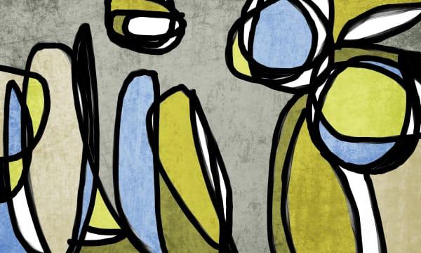 Orl 6855 Vibrant Colorful Abstract 0 28 Art | Irena Orlov Art