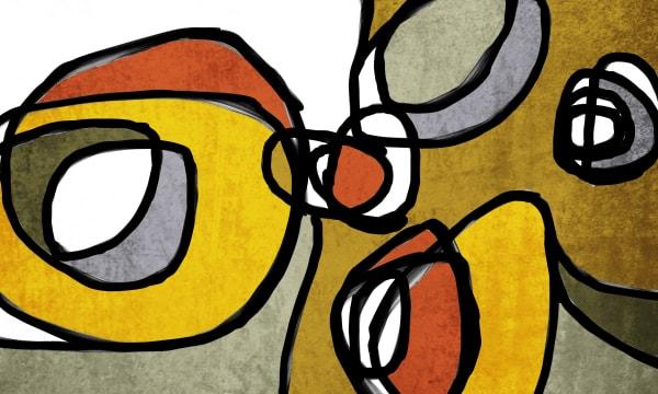 Orl 6856 Vibrant Colorful Abstract 0 29 Art | Irena Orlov Art