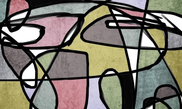 Orl 6852 Vibrant Colorful Abstract 0 26 Art | Irena Orlov Art