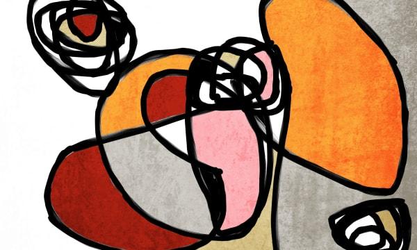 Orl 6857 Vibrant Colorful Abstract 0 30 Art | Irena Orlov Art