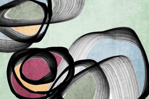 Orl 6854 Vibrant Colorful Abstract 0 27 Art | Irena Orlov Art
