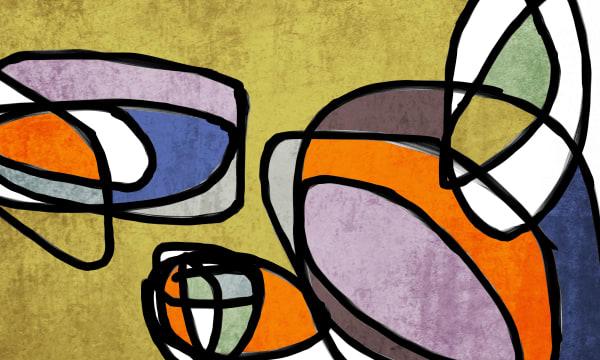 Orl 6858 Vibrant Colorful Abstract 0 31 Art | Irena Orlov Art