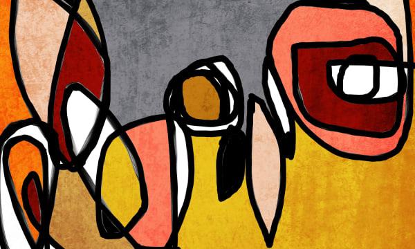 Orl 6859 Vibrant Colorful Abstract 0 32 Art | Irena Orlov Art