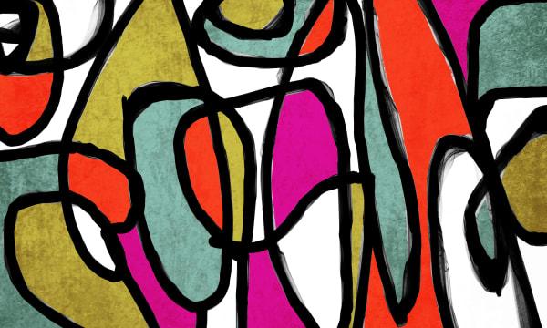 Orl 6861 Vibrant Colorful Abstract 0 34 Art | Irena Orlov Art