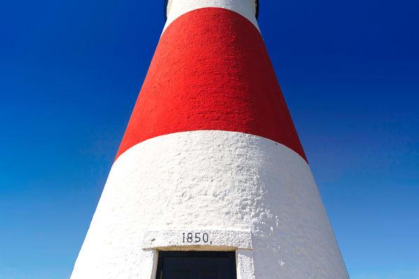 """Sankaty Stripe"" Nantucket lighthouse art"