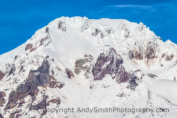 fine art photograph of Mount Hood Summit