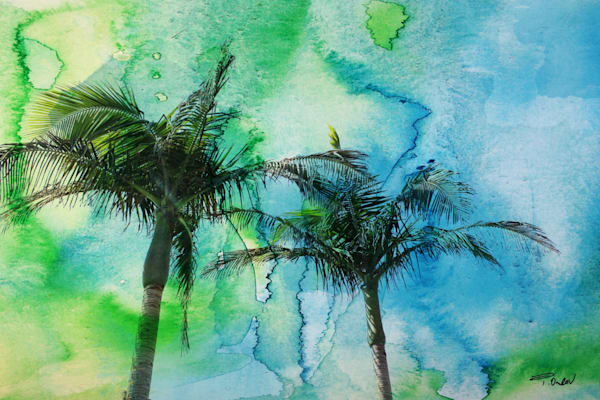 Palms art and paintings for sale by Irena Orlov. Beautiful contemporary palms art, watercolor palms art, rustic palms art, all that can be purchased as original paintings, or as fine art prints on canvas, paper, or metal.