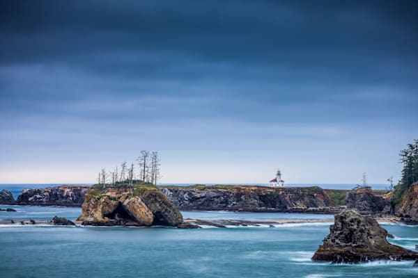 Fine Art Photography: Cape Arago Lighthouse by Curt Peters - Oregon Coast