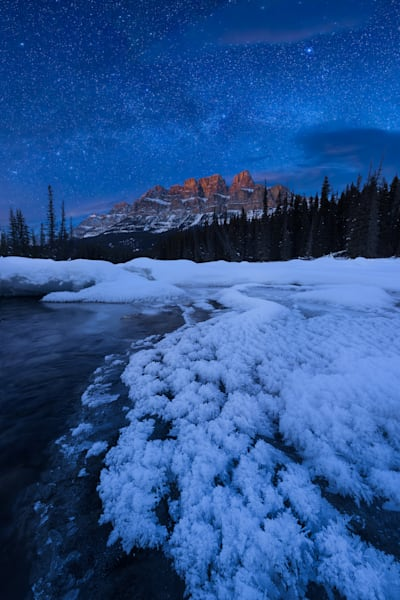 Castle Mountain Milky Way