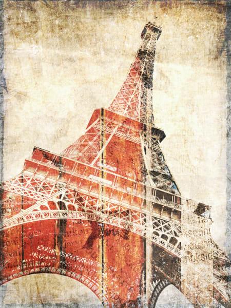 Orl 1755 Eiffel Tower Paris France Art | Irena Orlov Art