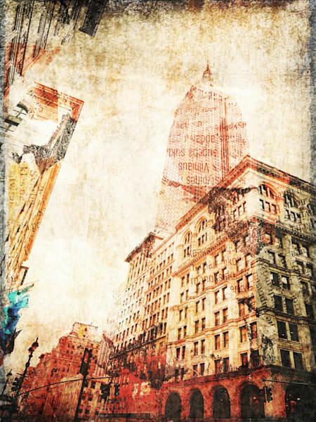 Orl 1756 New York City Empire State Building I Art | Irena Orlov Art