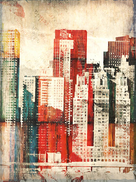 Orl 1758 1 Buildings Of New York City I Art | Irena Orlov Art
