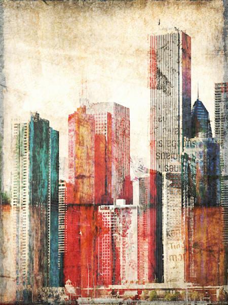 Orl 1759 Buildings Of New York City Iii Art | Irena Orlov Art