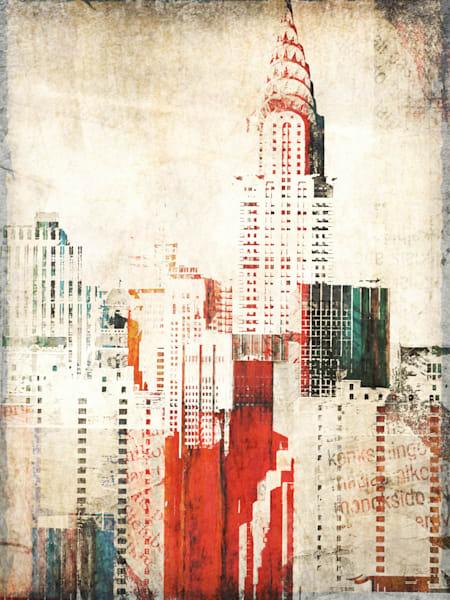 Orl 1760 Chrysler Building Art | Irena Orlov Art