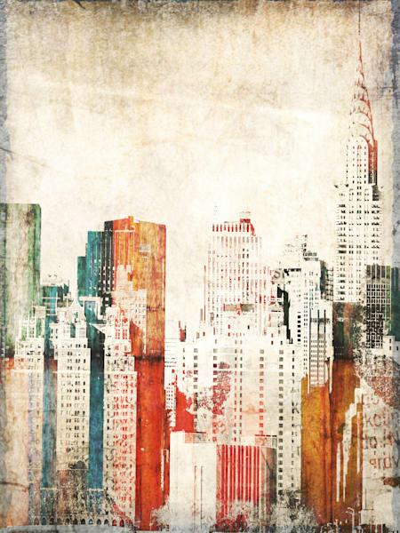 Orl 1761 Orl 1760 Chrysler Building Ii Art | Irena Orlov Art