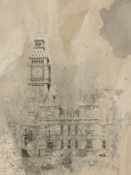 Orl 1791 1 London Rainy Mood Art | Irena Orlov Art