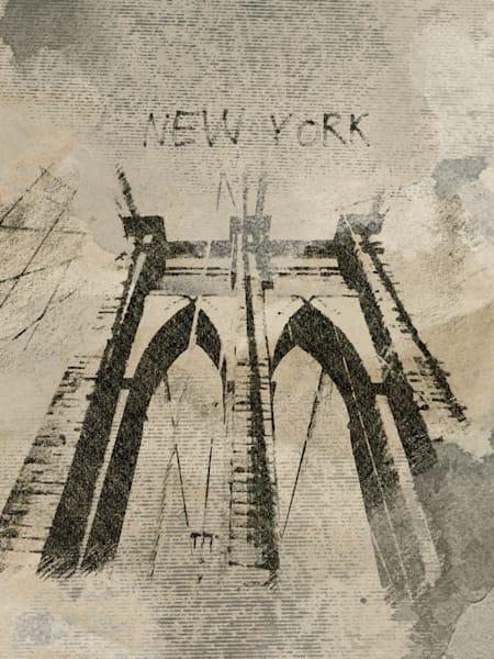 Orl 1792 New York Rainy Mood Art | Irena Orlov Art