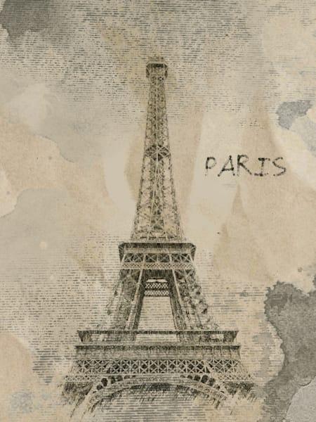 Orl 1793 Paris Rainy Mood Art | Irena Orlov Art