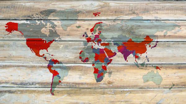 ORL-3012-4 World map IV