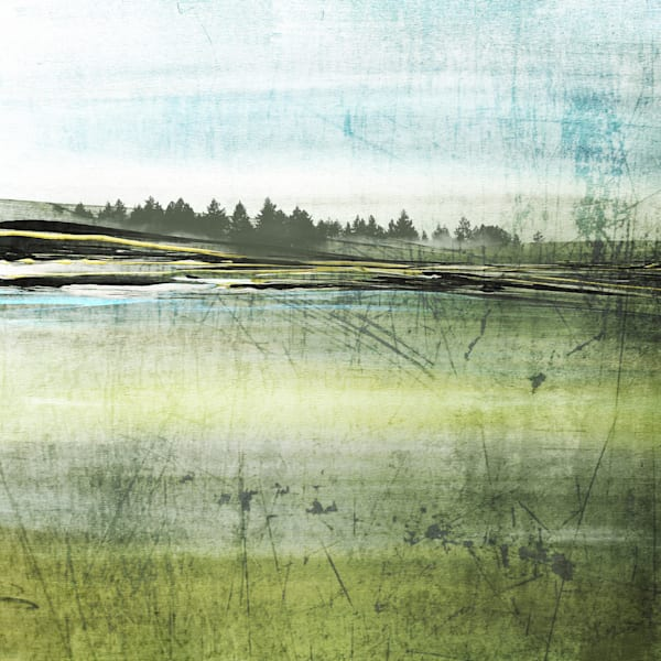Orl 1469 Green Field Art | Irena Orlov Art