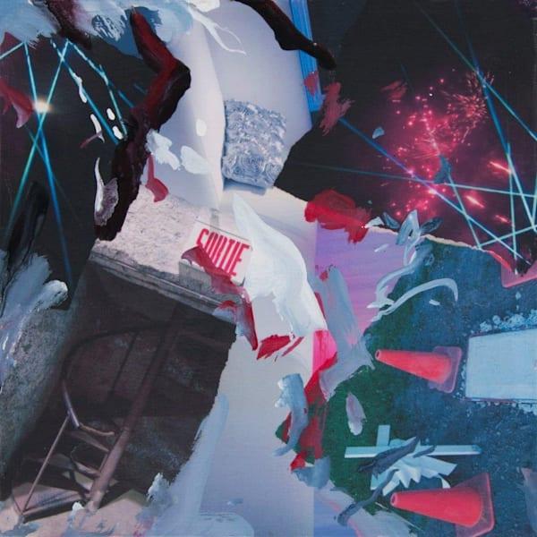 Buy Sortie - Partie - Original Mixed Media on canvas