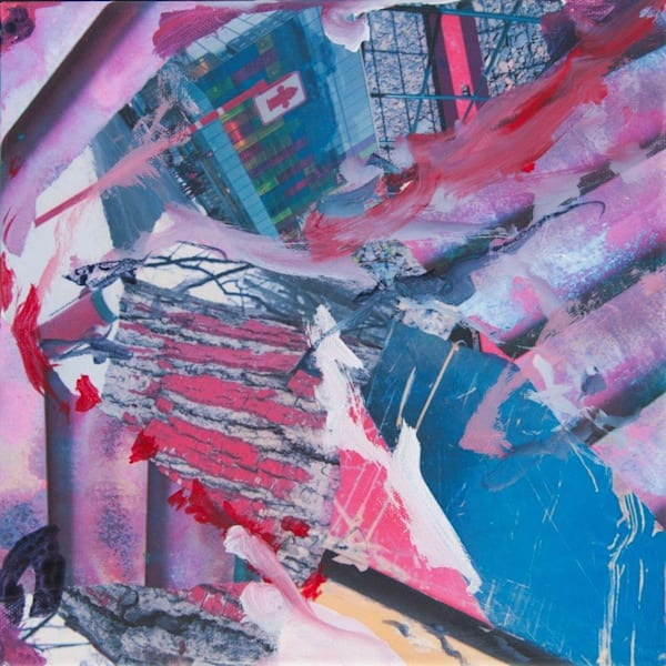 Red & Pink    -  original Art for sale -