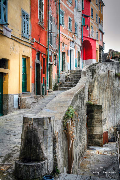 Manarola Walkway photograph for sale as fine art by Tony Pagliaro