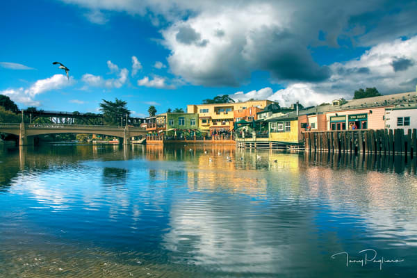Capitola Reflection Art | Tony Pagliaro Gallery