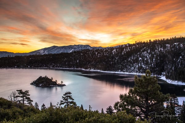 Emerald Bay photograph in Lake Tahoe by Tony Pagliaro