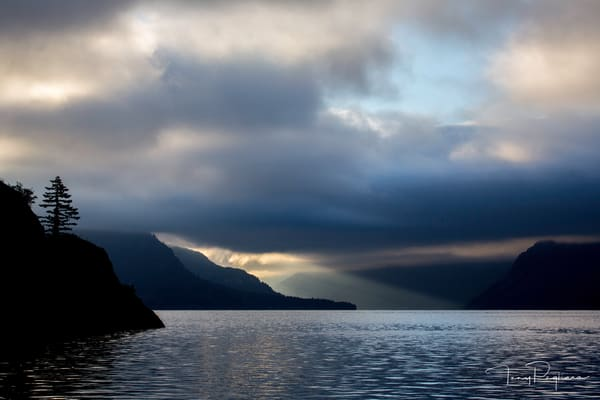 Morning Light - Columbia River