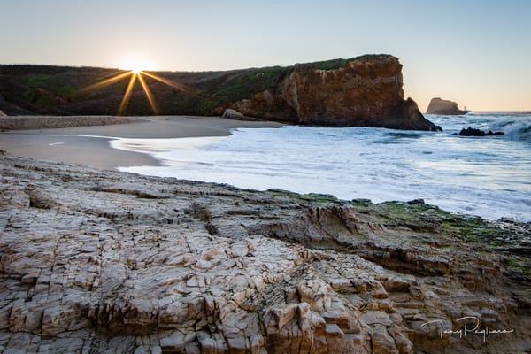 Sunrise at Panther Beach Photographs for sale as fine art by Tony Pagliaro